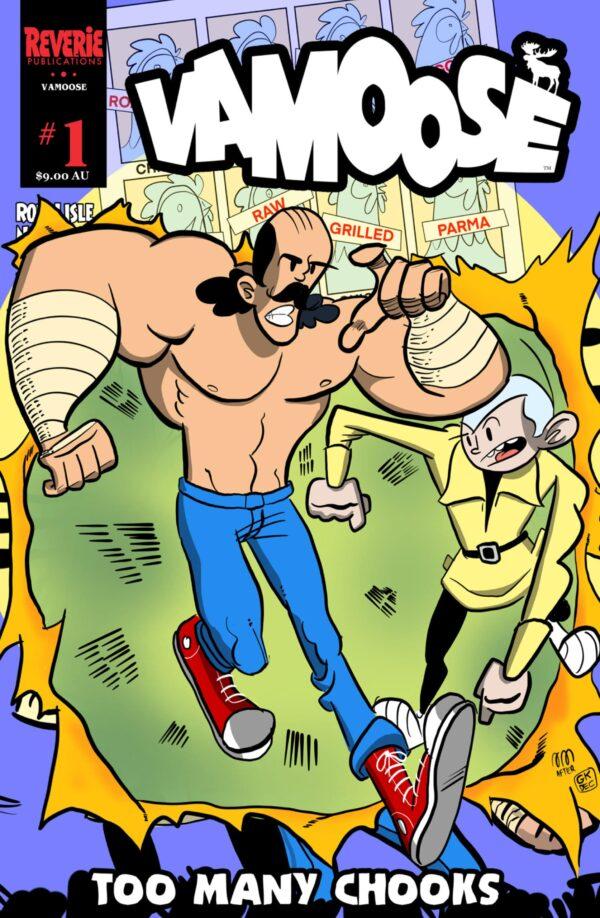 Vamoose #1 Nick May Cover