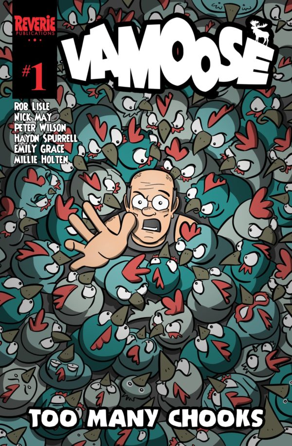 Vamoose #1 Rob Lisle Cover