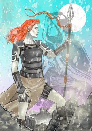Bronwyn Wrath of Cursed 001